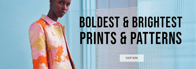 Boldest & Brightest Prints & Patterns