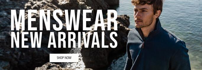 Shop Menswear New Arrivals