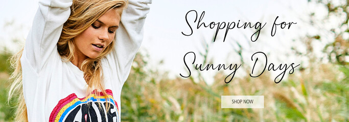 Shopping for Sunny Days