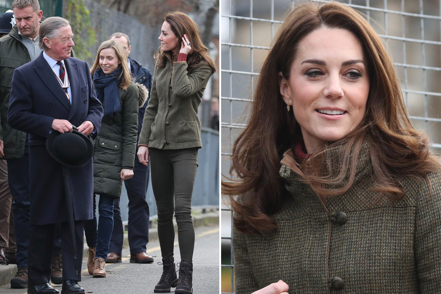 Kate's classic and elegant look.