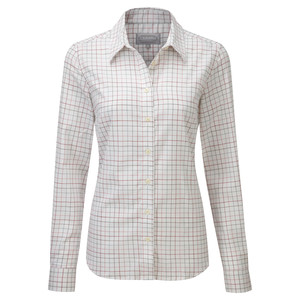 Ladies Tattersall Shirt Pink/Green Check