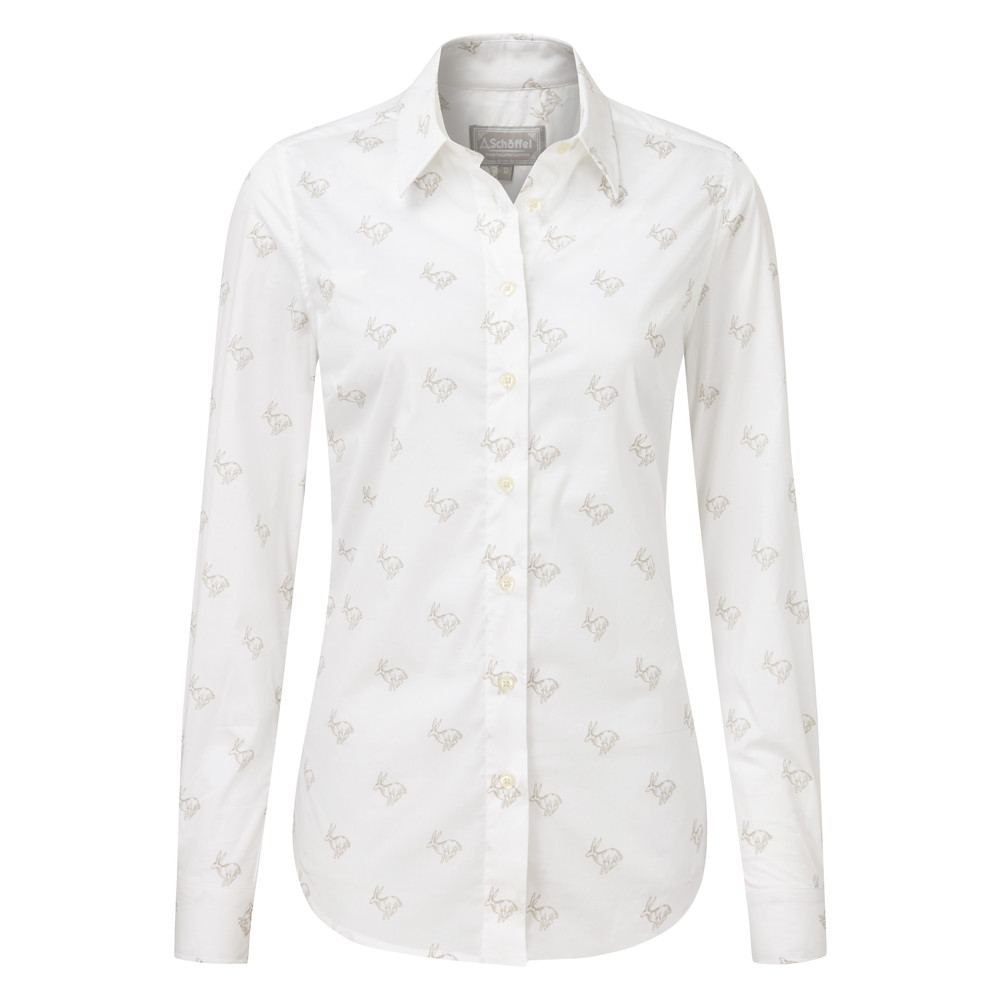 Schoffel Country Norfolk Shirt Marble Hare