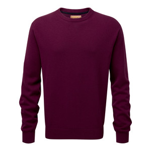 Cotton Cashmere Crew Fig