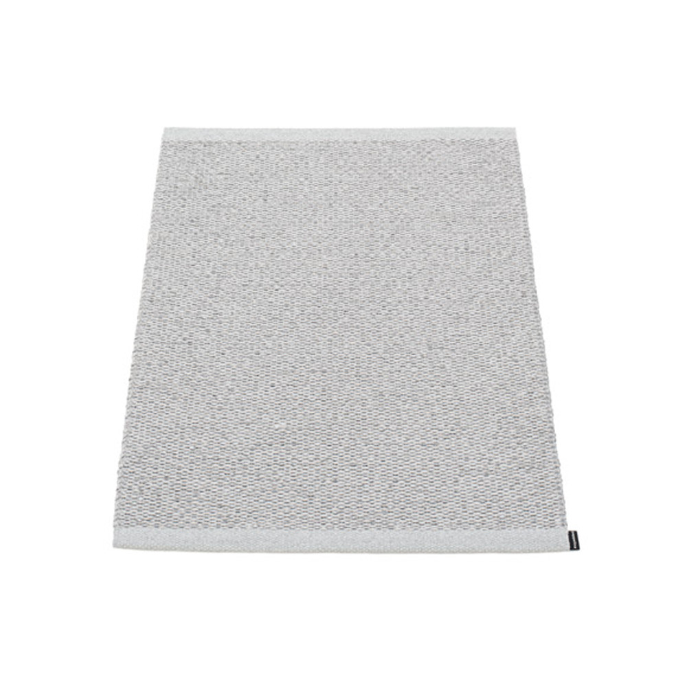 Pappelina Svea Reversible Rug - 60 x 85 Met Grey/Light Grey