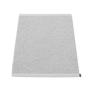 Svea Reversible Rug - 60 x 85 Met Grey/Light Grey