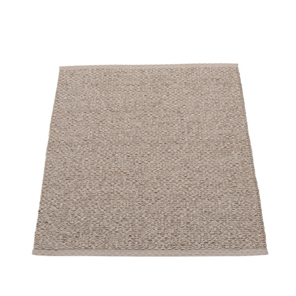 Pappelina Svea Reversible Rug - 70 x 90 Mud Metallic/Mud