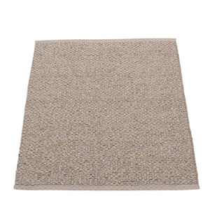 Svea Reversible Rug - 70 x 90 Mud Metallic/Mud
