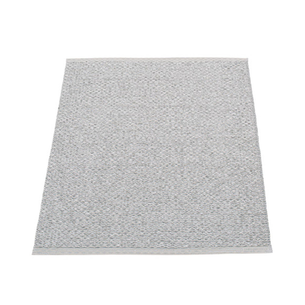 Pappelina Svea Reversible Rug - 70 x 90 Grey Met/Light Grey