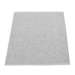 Svea Reversible Rug - 70 x 90 Grey Met/Light Grey