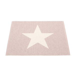 Viggo Small Reversible Mat Pale Rose/Vanilla