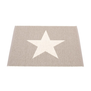 Viggo Small Reversible Mat Mud/Vanilla