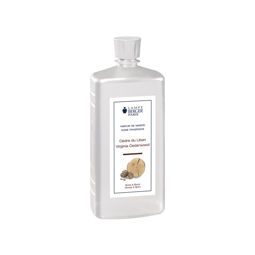 Lampe Berger Virginia Cedarwood Fragrance Bottle Refill - 1 Litre N/A