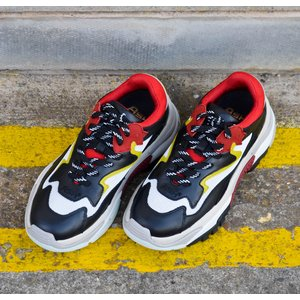 Addict Trainer Red/Whte/Black/Yellow