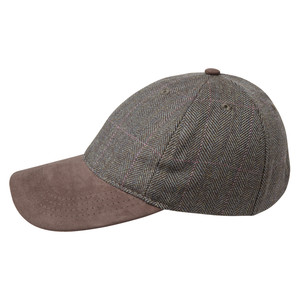 Schoffel Country Tweed Baseball Cap in Cavell Tweed