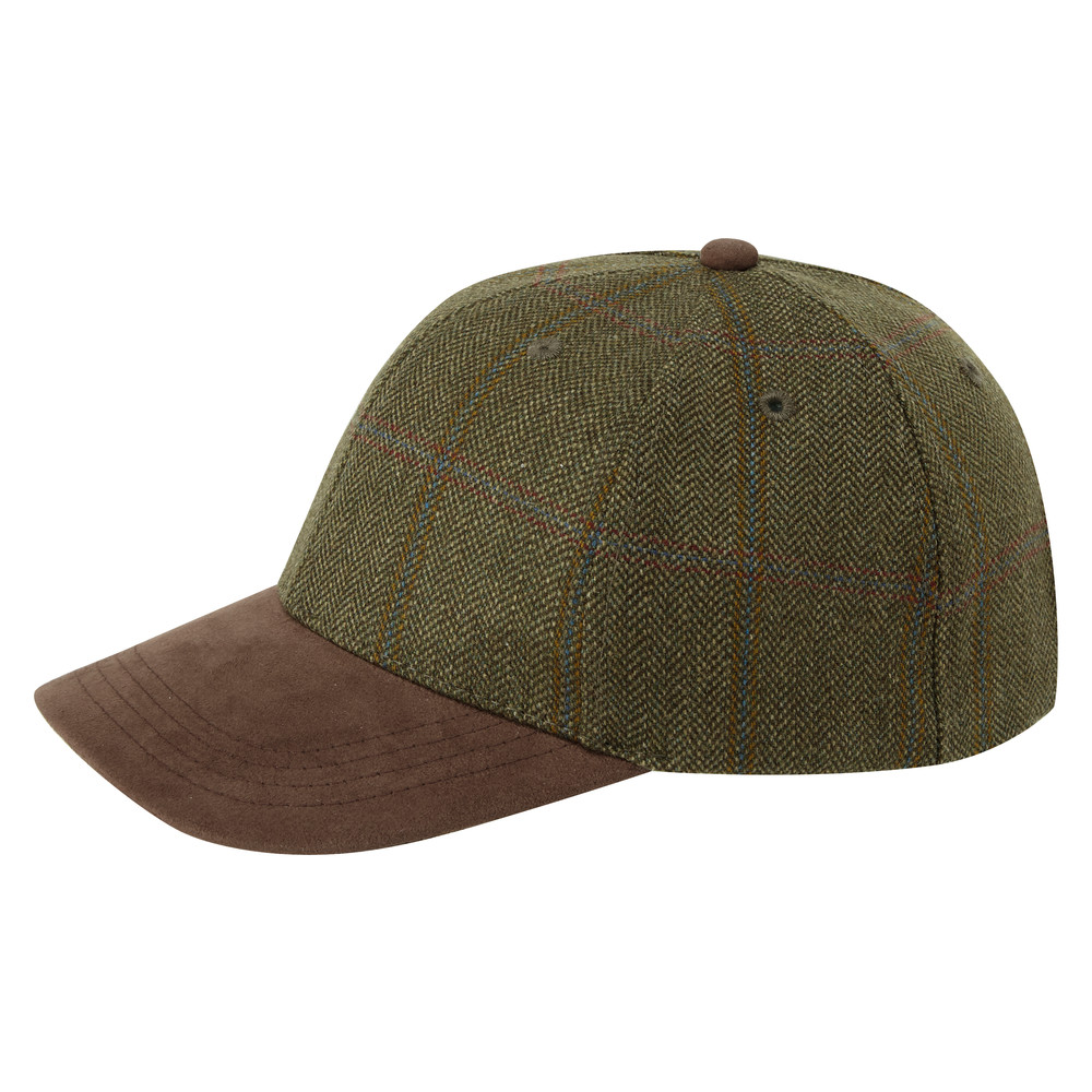 Schoffel Country Tweed Baseball Cap Sandringham Tweed