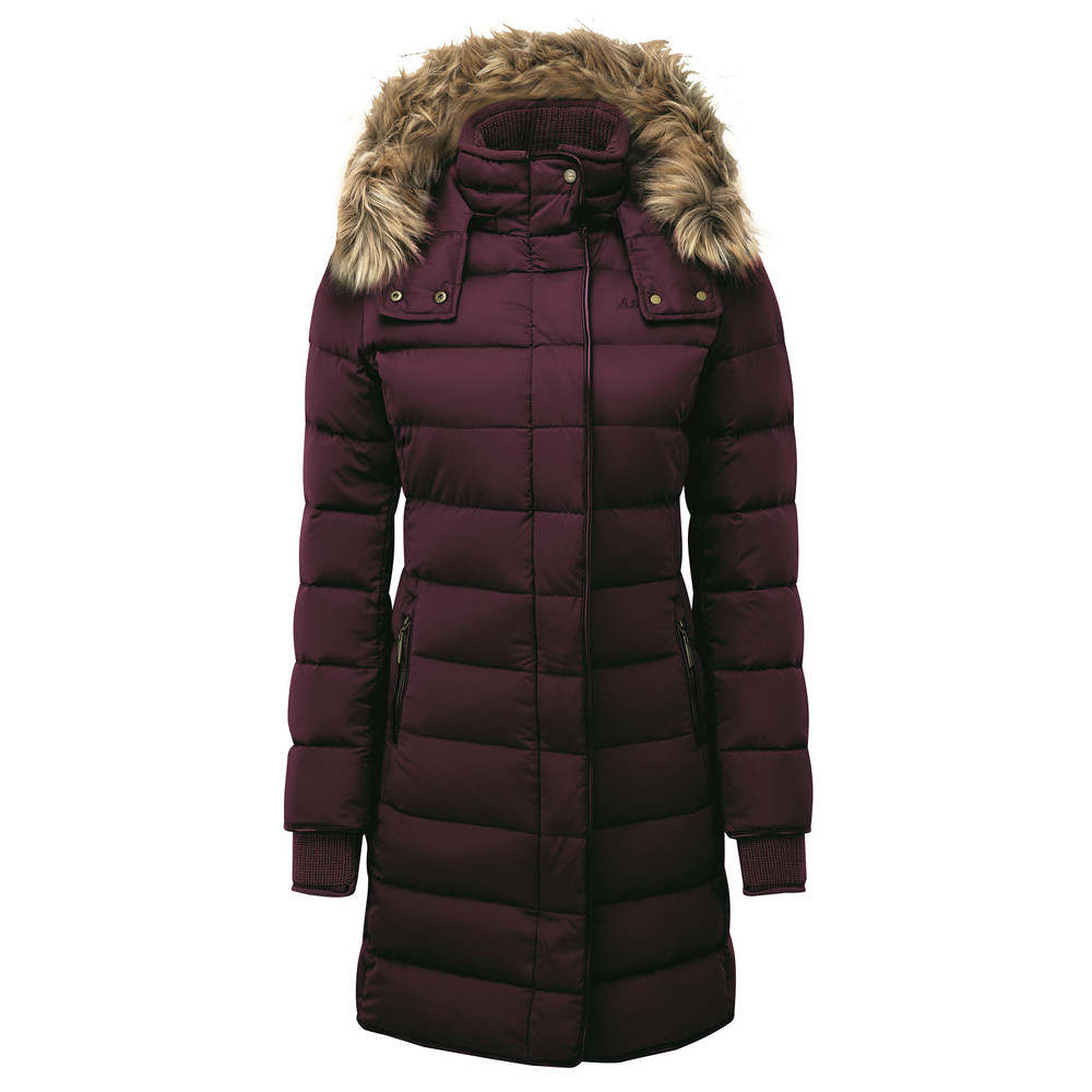 Schoffel Country Mayfair Down Coat Fig