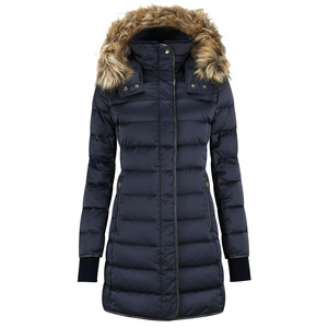 Mayfair Down Coat Navy