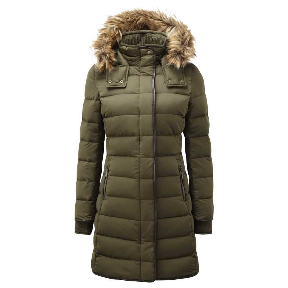 Schoffel Country Mayfair Down Coat Olive