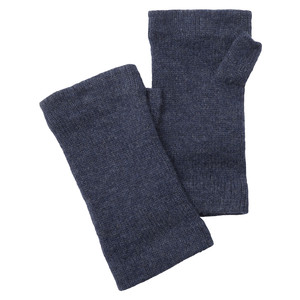 Schoffel Country Cashmere Wristwarmers in Indigo