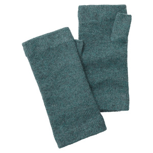 Schoffel Country Cashmere Wristwarmers in Kingfisher
