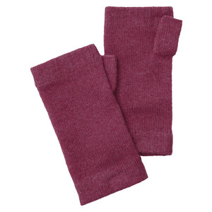 Schoffel Country Cashmere Wristwarmers in Raspberry