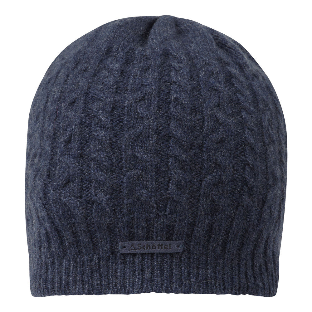 Schoffel Country Cashmere Cable Hat Indigo