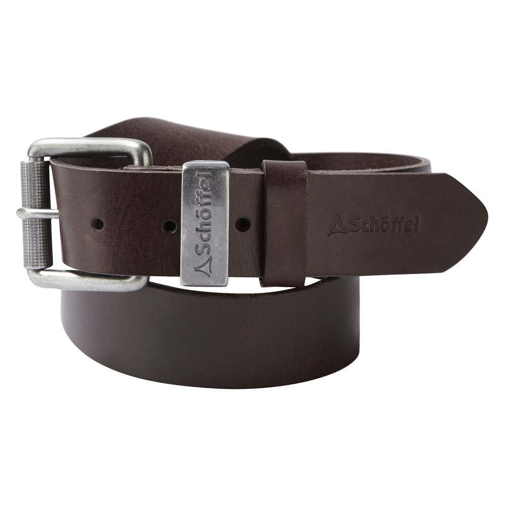 Schoffel Country Leather Belt Dark Brown