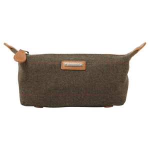 Schoffel Country Tweed Wash bag in Windsor Tweed