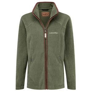 Schoffel Country Burley Ladies Fleece in Fern