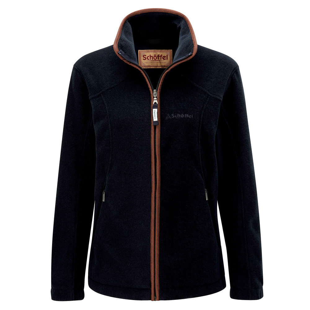 Schoffel Country Burley Ladies Fleece Navy