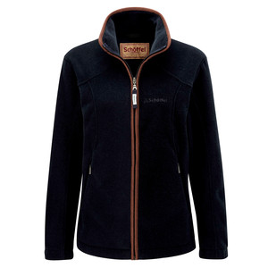Schoffel Country Burley Ladies Fleece in Navy