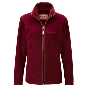 Schoffel Country Burley Ladies Fleece in Ruby