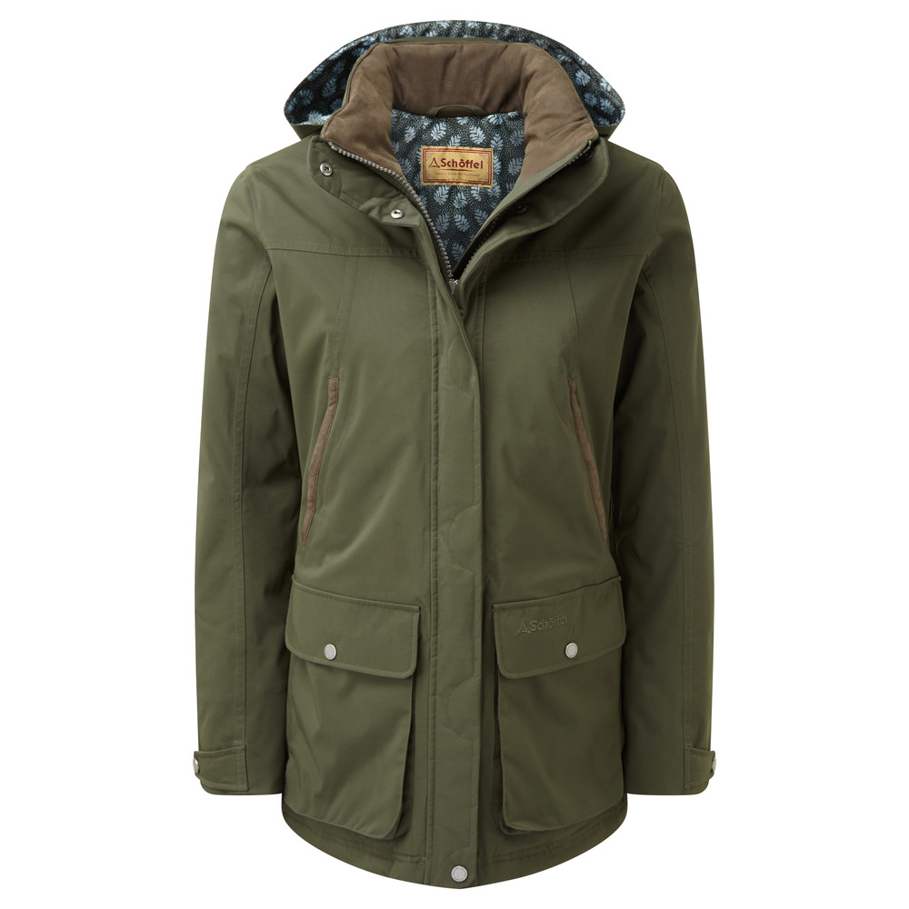 Schoffel Country Rockingham Coat Forest