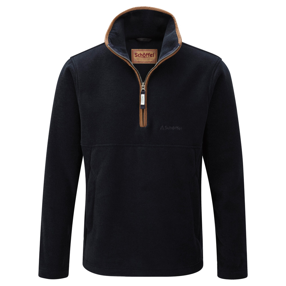 Schoffel Country Berkeley ¼ Zip Navy
