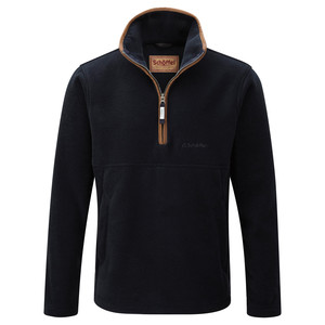 Schoffel Country Berkeley ¼ Zip in Navy