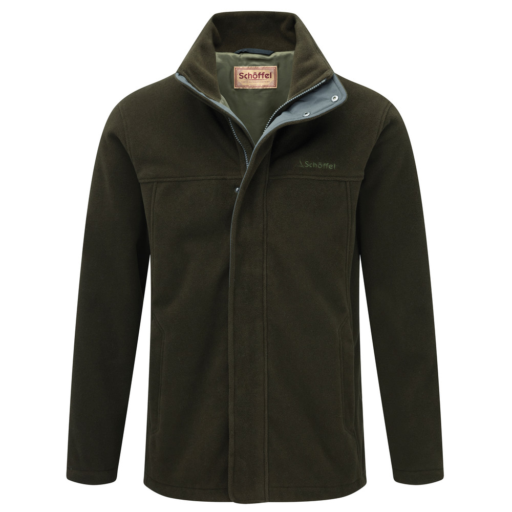 Schoffel Country Mowbray Fleece Dark Olive