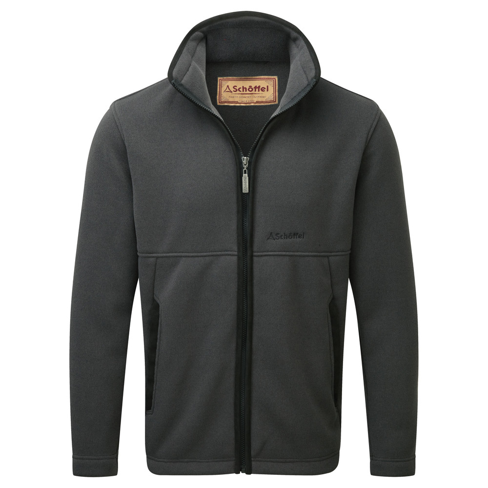 Schoffel Country Marlborough Fleece Jacket Charcoal