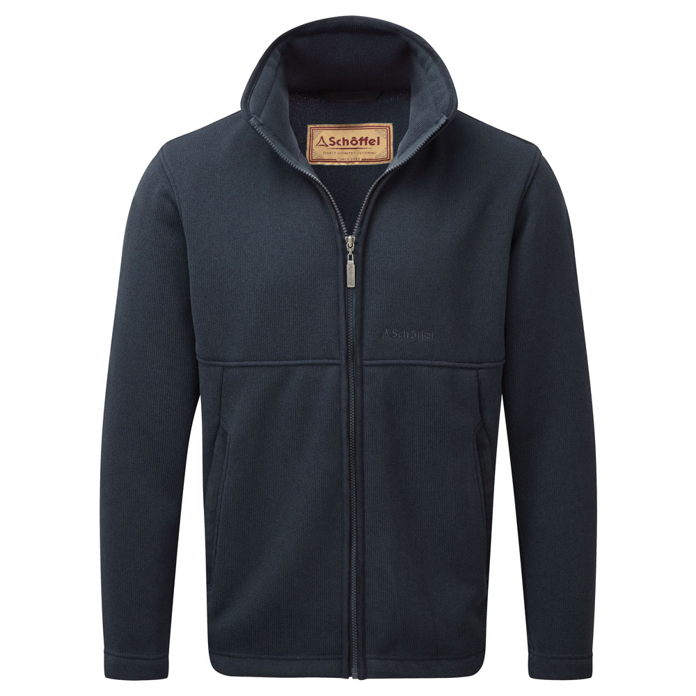 Schoffel Country Marlborough Fleece Jacket Navy