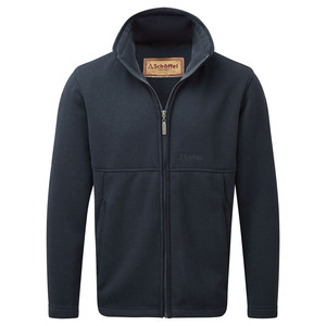 Marlborough Fleece Jacket Navy