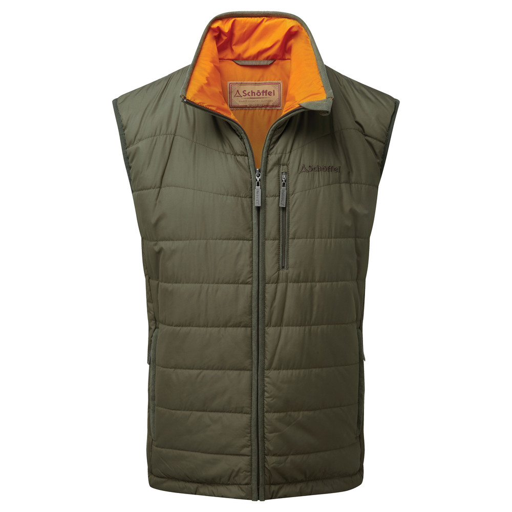 Schoffel Country York Gilet Olive Marl