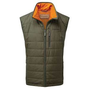 Schoffel Country York Gilet in Olive Marl