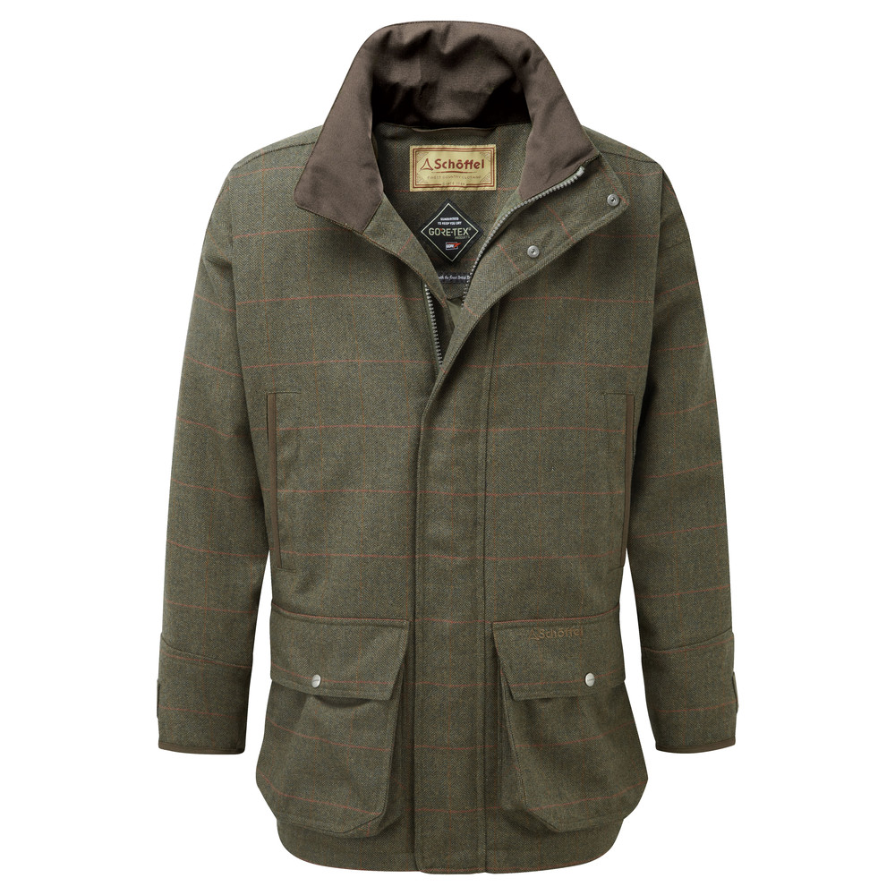 Schoffel Country Ptarmigan Tweed Coat Windsor Tweed