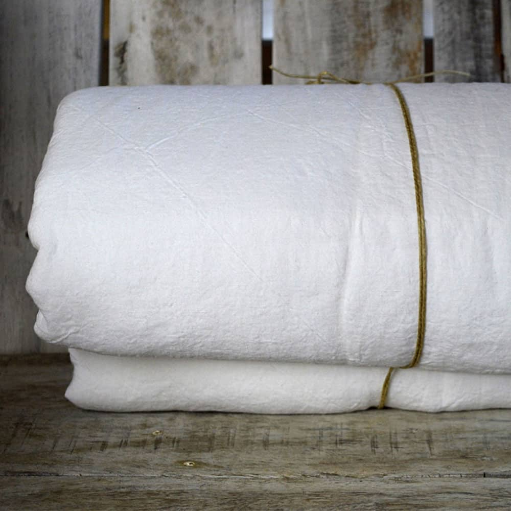 La Draperie  Fitted Sheet - Kingsize White