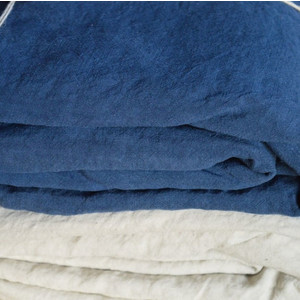 Fitted Sheet - Kingsize Indigo