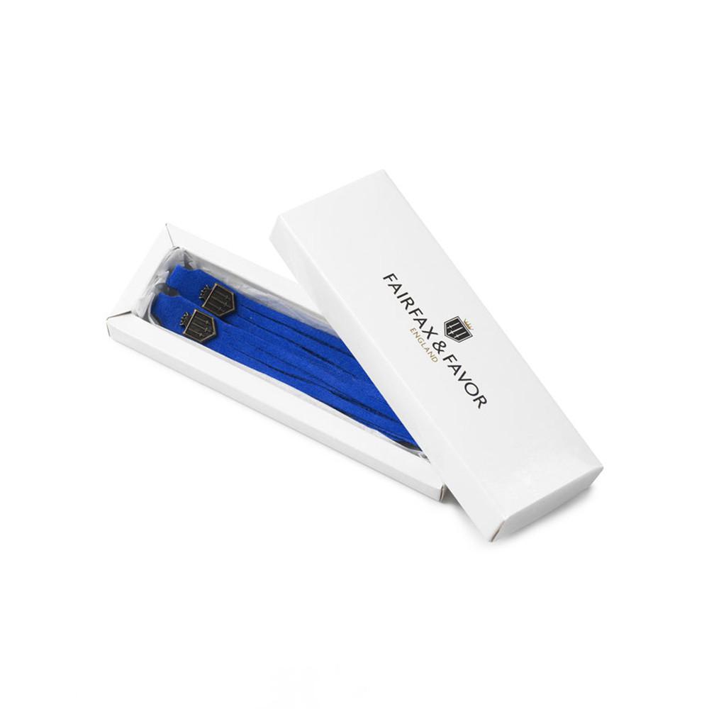 Fairfax & Favor Changeable Boot Tassel Colbalt