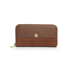 Fairfax & Favor Salisbury Purse in Tan