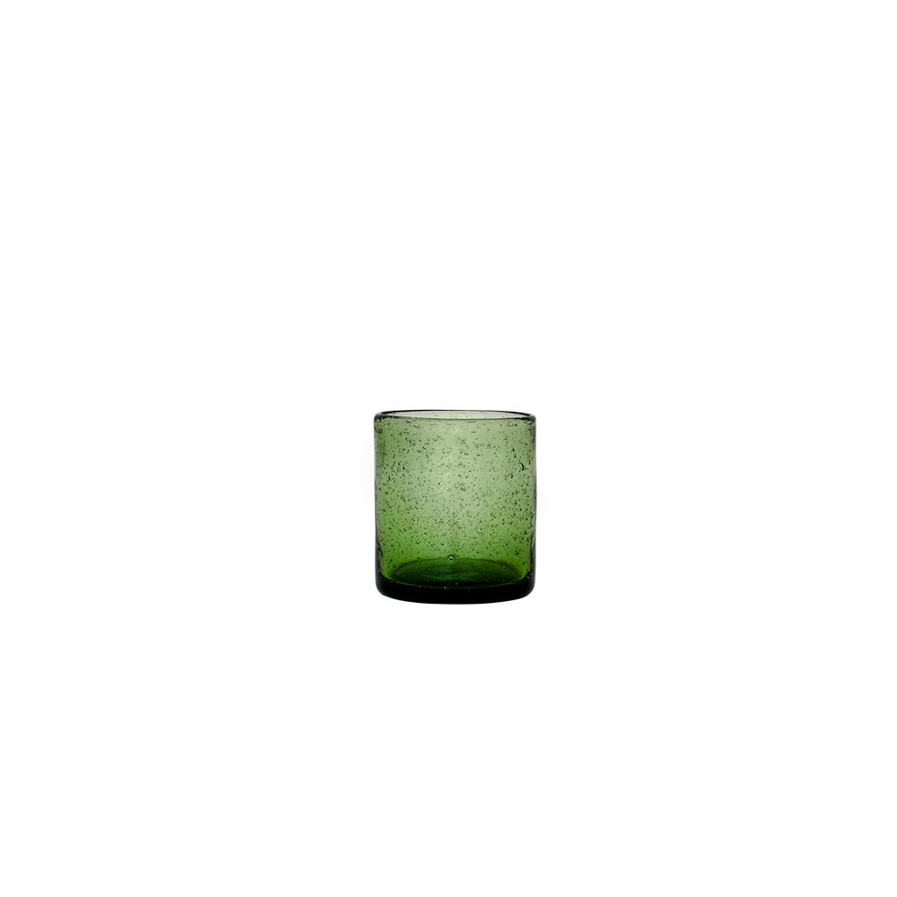 Cozy Living Mexico Bubble Glass Moss