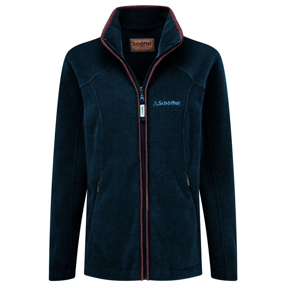 Schoffel Country Burley Ladies Fleece Kingfisher
