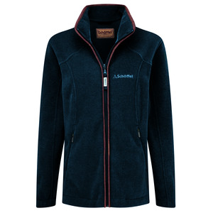 Schoffel Country Burley Ladies Fleece in Kingfisher
