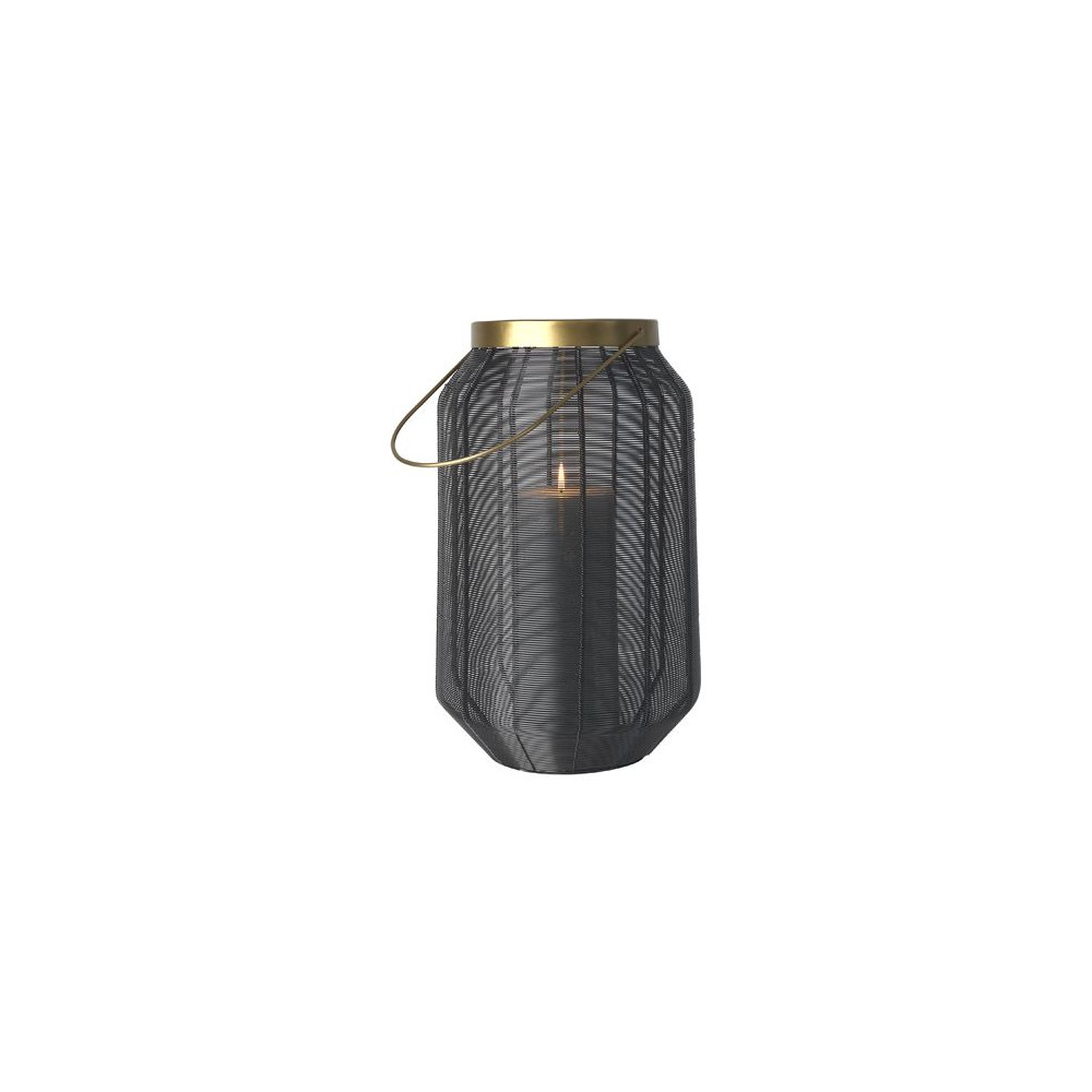 Cozy Living Wire Lantern Black